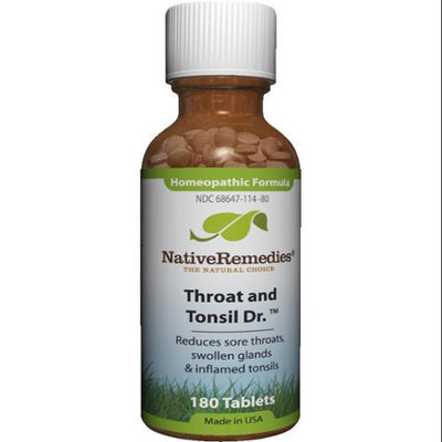 Throat and Tonsil Dr. by Native Remedies - 180 Tablets