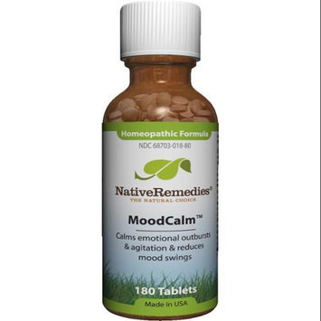 Native Remedies - MoodCalm Homeopathic Formula - 180 Tablets