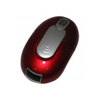 Impecca Wm700Rs Wireless Optical Mouse Red With Silver Trim