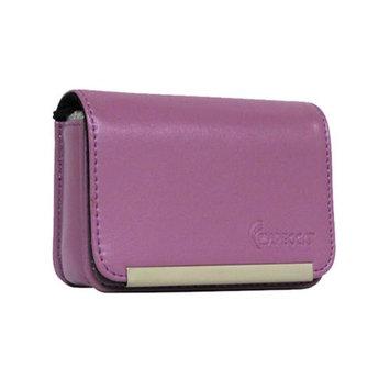 Impecca DCS86 Compact Leather Digital Camera Case - Purple