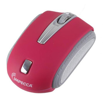Impecca I Love Ny WM402P Traveling Notebook Mouse - Pink