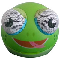 Impecca Zoo Tunes MCS10 Portable Character Stereo Speaker Frog