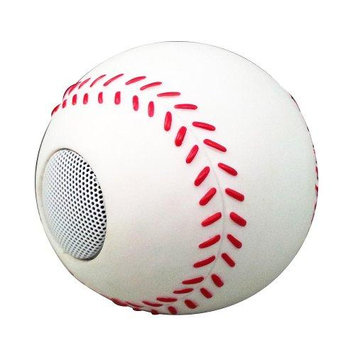 Impecca Zoo Tunes MBS110 Baseball Mobile Speaker
