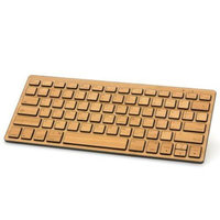 Impecca KBB78WE West Elm Bluetooth Bamboo Keyboard