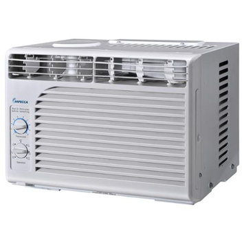 Impecca 5,000 BTU Mechanical Mini Window Air Conditioner