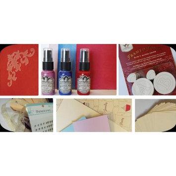Tattered Angels Glimmer Card Kit-Birthday