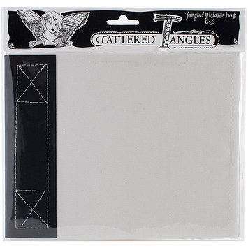 Tattered Angels 21007 Tangled Mistable Book 6 in. X6 in. 12 Pages