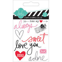 Heidi Swapp Mixed Media Clear Mini Stamps 3