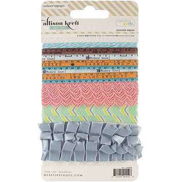 Webster's Pages Color & Composition Premium Trim Card, 5 Styles/1 Yard Each