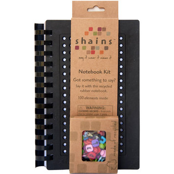 Shains Notebook with 100 elements -Black
