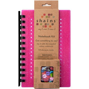 Shains Notebook with 100 Elements, Cherry