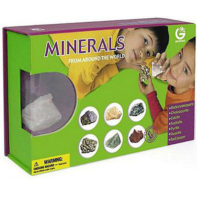 Geo World ED244K Minerals from Around The World