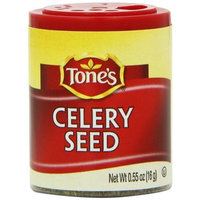 Tone's Mini's Celery Seed, 0.55 Ounce (Pack of 6)