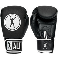 Ali Synthetic Leather Boxing Gloves - 16 oz. - Black