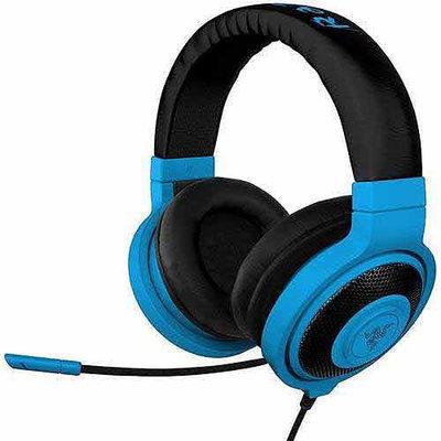Razer Usa Razer Kraken Pro - Analog Gaming Headset - Stereo - Neon Blue - Mini-phone - Wired - 32 Ohm - 20 Hz - 20 Khz - Over-the-head - Binaural - Circumaural - 4.27 Ft Cable - (rz04-00870800-r3m1)