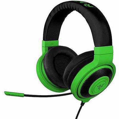 Razer Usa Razer Kraken Pro - Analog Gaming Headset - Stereo - Neon Green - Mini-phone - Wired - 32 Ohm - 20 Hz - 20 Khz - Over-the-head - Binaural - Circumaural - 4.27 Ft Cable - (rz04-00870900-r3m1)