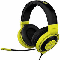Razer Usa Razer Kraken Pro - Analog Gaming Headset - Stereo - Neon Yellow - Mini-phone - Wired - 32 Ohm - 20 Hz - 20 Khz - Over-the-head - Binaural - Circumaural - 4.27 Ft Cable - (rz04-00871000-r3m1)