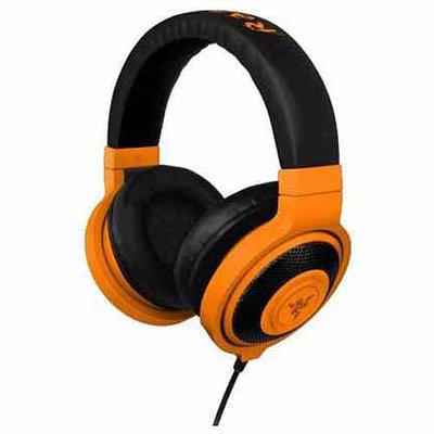 Razer Usa Razer Kraken Pro - Analog Gaming Headset - Stereo - Neon Orange - Mini-phone - Wired - 32 Ohm - 20 Hz - 20 Khz - Over-the-head - Binaural - Circumaural - 4.27 Ft Cable - (rz04-00871100-r3m1)