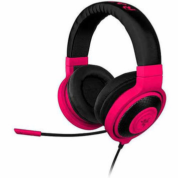 Razer Usa Razer Kraken Pro - Analog Gaming Headset - Stereo - Neon Red - Mini-phone - Wired - 32 Ohm - 20 Hz - 20 Khz - Over-the-head - Binaural - Circumaural - 4.27 Ft Cable - (rz04-00871200-r3m1)