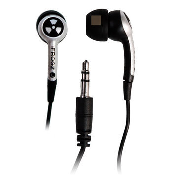 iFrogz Ear Pollution Plugz Earbuds, Assorted Colors