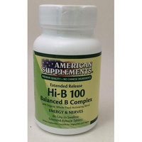Hi-B 100 No Chinese Ingredients American Supplements 60 Tabs