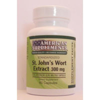 St Johns Wort Extract No Chinese Ingredients American Supplements 60 VCaps