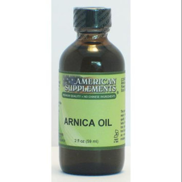 Arnica Oil No Chinese Ingredients American Supplements 2 oz Liquid