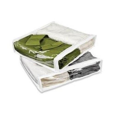Honey Can Do Honey-Can-Do SFTZ01245 4 pack Polyester Sweater Bag