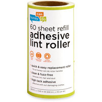 Honey Can Do 60 Sheet Lint Roller Refills (6 Pack)