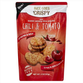 Kameda 2 oz. Rice Crispy Chilli And Tomato Case Of 6