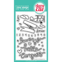 Avery Elle Clear Stamp Set 4inX6inFly By