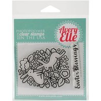 Avery Elle Clear Stamp Set 4inX3inEaster Blessings