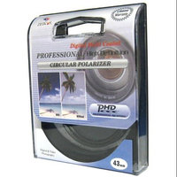 Zeikos Electronics ZE-CPL43 Filter - Polarizer Filter - 43mm Attachment