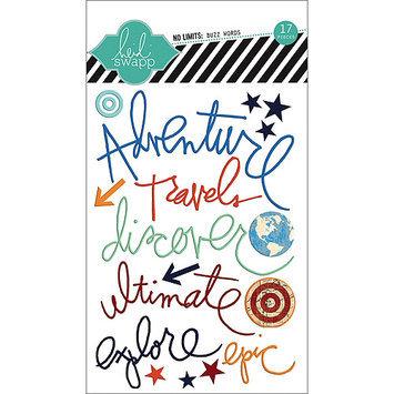 American Crafts Buzz Words Epoxy Stickers-Fabulous