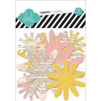 Heidi Swapp Paper Flowers 9/Pkg