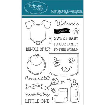 Technique Tuesday Clear Stamps 4
