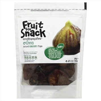 Sdoukos Fruit For Snack Greek Dried Figs - 7.05 Bags Case Of 12