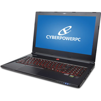 CyberpowerPC Fangbook Edge 4K HFXE4K-400 15.6-inch Intel i7 256GB SSD/ 1TB HDD Gaming Notebook