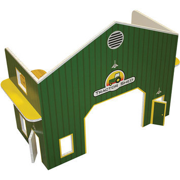 Fundeco Small Scale Tractor Shed