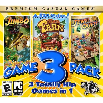 MumboJumbo 154052 MumboJumbo 3 Game Pack - Jewel Quest, Jungo & Little Farm