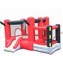 KidWise Little Raceway Inflatable Bounce House