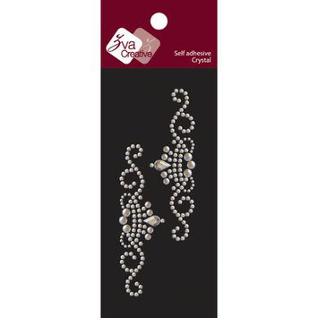 Zva Creative Self-Adhesive Jewel Embellishments 2.125