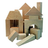 A+ Childsupply Real Hollow Blocks - 17 Pieces