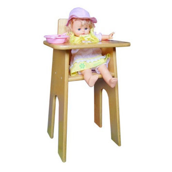 A+ Child Supply 24 H Doll High Chair By A + Child Supply