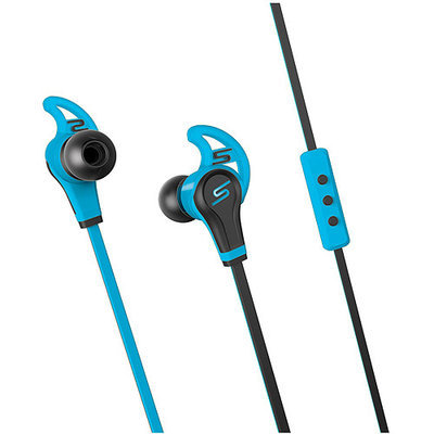 Sms Audio, Llc SMS Audio Blue SMS-EB-SPRT-BLU STREET by 50 In-Ear Wired Sport