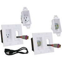 Midlite - Decor In-Wall Power Solution Kit