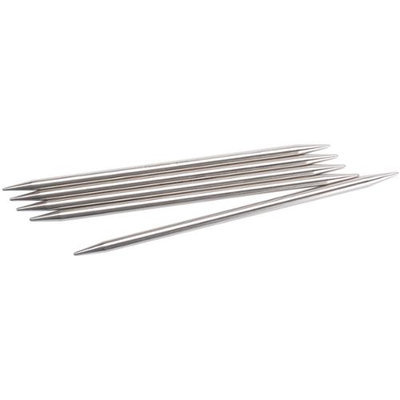Chiaogoo Double Point Stainless Steel Knitting Needles 6