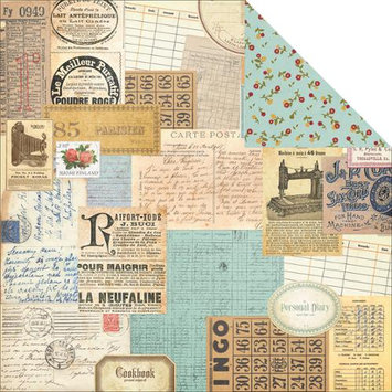 Simple Stories Legacy Double-Sided Cardstock 12