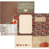Simple Stories Sweater Weather Double-Sided Elements Cardstock 12
