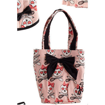 Jessie Steele Lucie Cooking Bow with Lunch Tote